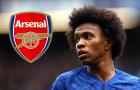 Nhìn lại hành trình từ Chelsea tới Arsenal của Willian