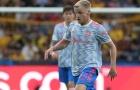 Chơi 45 phút, Van de Beek được so sánh với người cũ M.U