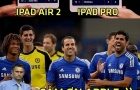 Ảnh chế: Ipad Pro 'cháy hàng' vì fan Chelsea, Phi Sơn muốn khoác áo tuyển Iceland