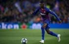 Ousmane Dembele khiến các đồng đội ngỡ ngàng