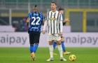 Cristiano Ronaldo có trận đấu siêu tệ trước Inter Milan