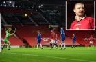 Fernandes tái hiện hình ảnh Cantona với siêu phẩm vào lưới Everton