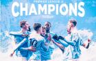 Cho M.U 'hít khói', Man City chính thức vô địch Premier League 2