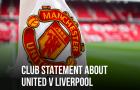 CHÍNH THỨC! Man Utd ra thông báo quan trọng về sự cố rúng động Premier League