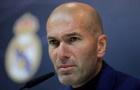 Zidane ra quyết định chia tay Real Madrid
