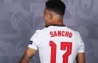 Tới Man Utd, Jadon Sancho khoác áo số mấy?