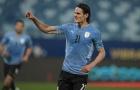 Sát thủ M.U nổ súng, Uruguay có chiến thắng đầu tay
