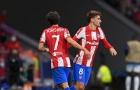 Thẻ đỏ xuất hiện phút 90+6, Atletico có kết quả thất vọng trước Porto