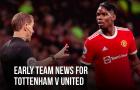 Đội hình M.U đấu Tottenham: Cú hích xuất hiện; Trụ cột bị treo giò 3 trận