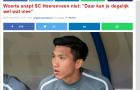 SC Heerenveen thật sự không biết cách dùng Đoàn Văn Hậu?