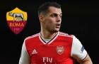 Arsenal 3 lần liên tiếp khiến Roma nhận 'trái đắng' trong vụ Xhaka