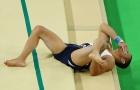 Pha gãy gập chân của VĐV Pháp tại Olympic