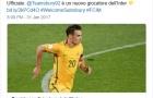 CHÍNH THỨC: Inter Milan đón trung vệ từ Trung Quốc