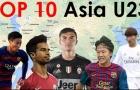 Top 10 cầu thủ trẻ châu Á dưới 23 tuổi