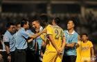 Tình huống trọng tài bẻ còi trong trận HAGL thua ngược Thanh Hóa