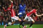 Romelu Lukaku từng thể hiện ra sao khi đối đầu Man Utd?