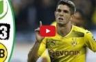 Highlights: Wolfsburg 0-3 Borussia Dortmund (vòng 1 Bundesliga)
