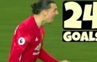Nhìn lại mùa giải đầu tiên của Ibra tại Man Utd