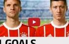 Lewandowski và Muller - cơn ác mộng của Werder Bremen