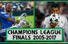 Nhìn lại các trận chung kết Champions League từ 2005 đến 2017