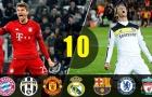 Top 10 trận đấu kịch tính nhất