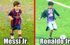 Nếu con trai của Messi và Ronaldo đối đầu nhau, ai hơn ai?