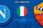 Thất bại của Napoli trước AS Roma theo phong cách Lego