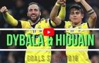 Paulo Dybala và Gonzalo Higuain - cặp đôi hoàn hảo của Juventus