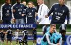 Pogba, Griezmann, Mbappe vui vẻ tập luyện trước đợt tổng duyệt cuối cùng