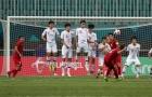 Siêu phẩm sút phạt của Minh Vương vào lưới U23 Hàn Quốc