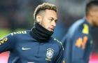 SỐC: Neymar cay cú, vật ngã thô bạo đàn em 19 tuổi xuống sân