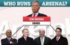 Bạn đã biết rõ về 'bộ máy điều hành' của Arsenal?