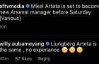 'Ljungberg và Arteta, họ khác gì nhau?'