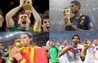 11 cầu thủ từng vô địch World Cup khi đang thuộc biên chế Real Madrid: Ramos, Varane và ai nữa?