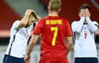 Thua trắng Bỉ, ĐT Anh hết cơ hội dự vòng Bán kết Nations League