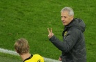 Khoảnh khắc hài hước của HLV Dortmund sau khi Haaland lập cú đúp