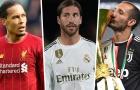 Xếp hạng 10 trung vệ xuất sắc nhất thế giới 2020