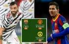 Đội hình xuất sắc nhất vòng bảng C1: Niềm hy vọng số 1 Man Utd