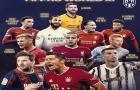 CHÍNH THỨC! Đội hình tiêu biểu FIFA The Best