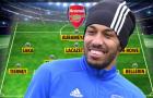 Đội hình ra sân Arsenal đấu Brighton: Bộ khung cũ, 'sát thủ' trở lại