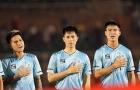 Đình Trọng và Duy Mạnh tái xuất trong ngày Hà Nội thua đau Sài Gòn FC