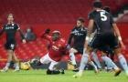Martinez phản ứng ngắn gọn về tình huống Pogba kiếm penalty cho M.U