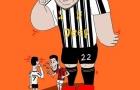 Cười té khói với loạt ảnh chế Juve thắng AC Milan