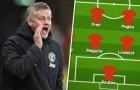 Đội hình Man United đấu Burnley: Cavani trở lại, ai thay thế Bailly?