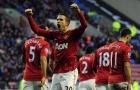 Đội hình gần nhất đưa Man Utd lên đỉnh EPL: 'Song sát' Persie - Chicharito