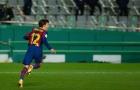 'Tôi là người đầu tiên nói muốn đá quả penalty thứ 5 của Barca'