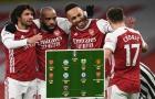ĐHTB vòng 18 Ngoại hạng Anh: Arsenal áp đảo, Man Utd chỉ có 1 cái tên