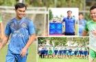 Tài Em và cựu danh thủ Long An tham dự trận đấu tri ân mừng xuân Tân Sửu