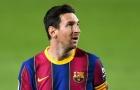 Đồng đội xác nhận, gã khổng lồ tiến sát, thuyết phục Messi rời Barca