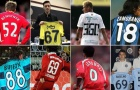Từ 'Lord' Bendtner đến Balotelli: Top 10 số áo 'không đụng hàng' của làng túc cầu